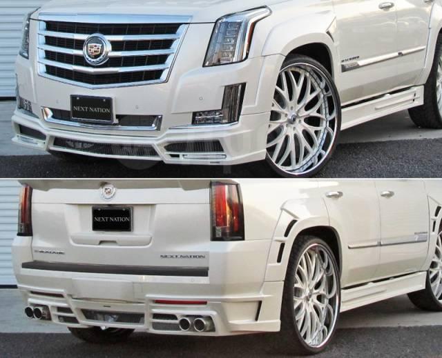 Обвес кузова аэродинамический. Cadillac Escalade, GMT, K2 L86. Под заказ