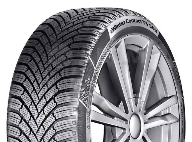 CONTINENTAL ContiWinterContact TS860, 195/65R15 91T