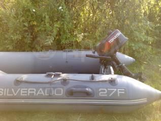 Продам лодку Silverado 27F