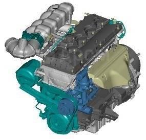 Двигатель ЗМЗ-40524 Евро 3 для ГАЗ 3302