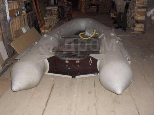 Лидер-400. 2005 год, длина 4,00м., двигатель подвесной, бензин. Под заказ