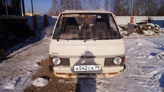 Nissan Vanette. Грузовик Ниссан ванет, 1 600куб. см., 750кг., 4x2