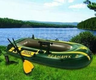 Лодка надувная Intex Seahawk 2