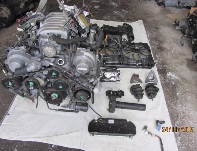 3UZ-FE VVTI двигатель и акпп - SWAP Toyota Celsior UCF30