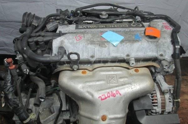 Двигатель в сборе. Mazda: Atenza, Premacy, Mazda2, Mazda3, MX-5, Mazda6, Axela LFDE. Под заказ