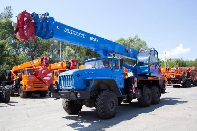 Клинцы КС-55713-3К-3. Автокран 25 тонн, 28,00м.