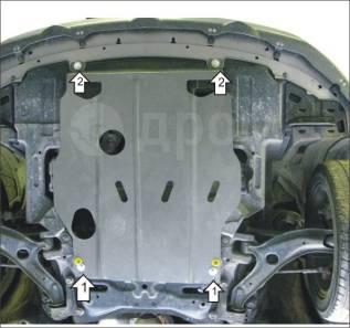 Защита Двигателя, КПП. 2 мм, Honda Airwave Сталь.