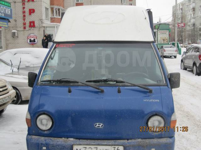 Hyundai Porter. Продам , 2 476куб. см., 900кг., 4x2