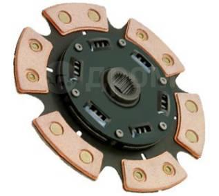 Диск сцепления керамический ВАЗ 2112 6 лепестков
