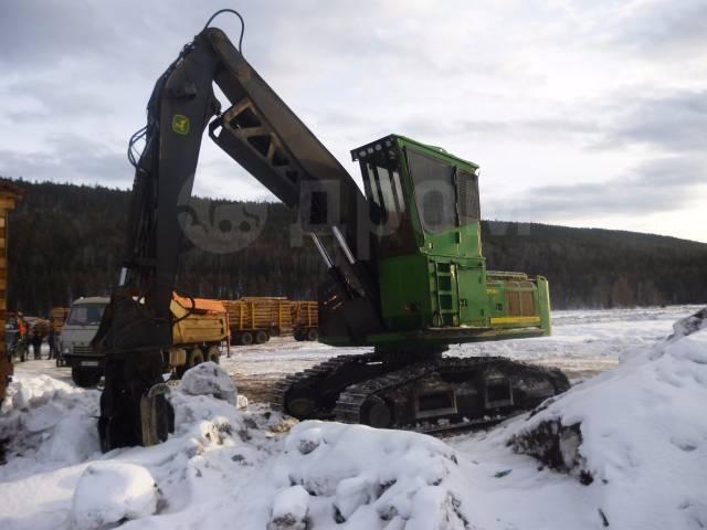 John Deere. Продается лесной перегружатель погрузчик JOHN Deere 2154D Усть-Кут, 31 000кг.