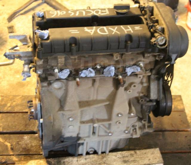 Двигатель в сборе. Ford: Fusion, Puma, Focus, C-MAX, Fiesta, Mondeo HXDA, DURATEC20HYBRID. Под заказ
