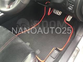 Модельные коврики Наноавто на Subaru Impreza (2007-2012). Правый руль