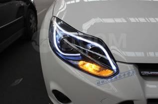 Фары (Тюнинг Комплект) Ford Focus  (MK3) 2011-2015.