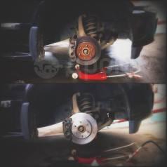 Ремонт тормозной системы, прокачка тормозов, ремонт суппортов