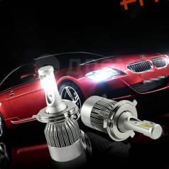 Светодиодные bi led лампы H4 6000k