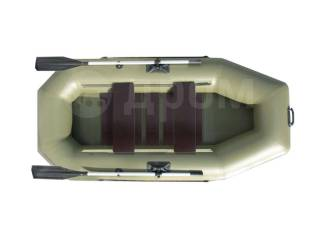 Лодка ПВХ RusBoat 240 РС (реечная слань)