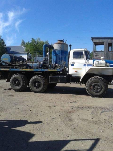 Агрегат для депарафинизации скважин АДПМ 12/150 на шасси Урал