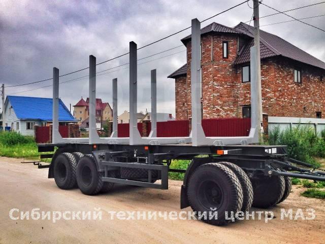 МАЗ 892620-010. Новый сортиментовозный прицеп МАЗ-892620-010, 23 500кг. Под заказ