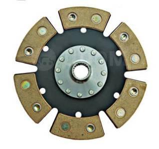Диск сцепления керамический ВАЗ 2112 (6 лепестков, бездемпфер, металло