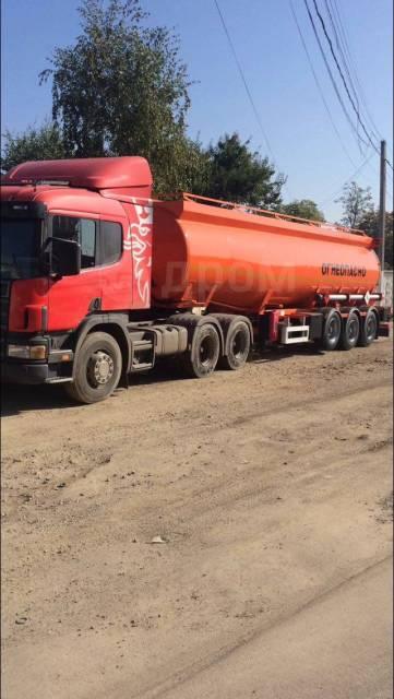 Scania. Продам Скания G380 2007 г, + бочка 2016 г трёхосная 28700 л,, 13 000куб. см., 28 100кг., 6x4