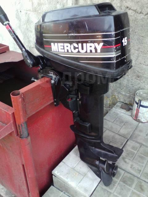 Mercury. 15,00л.с., 2-тактный, бензиновый, нога S (381 мм), 2000 год