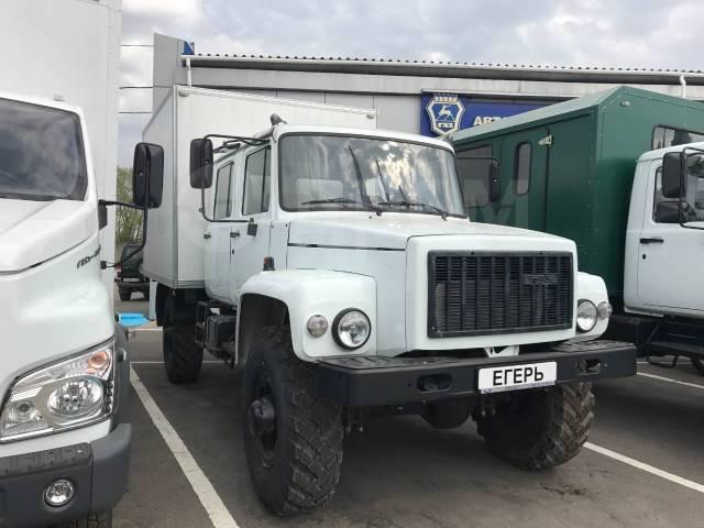 ГАЗ-33081 Егерь 2. ГАЗ 33081 Егерь II c Изотермической будкой, 4 750куб. см., 1 500кг., 4x4. Под заказ