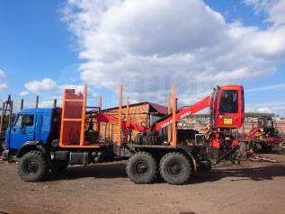 Гидроманипулятор Loglift-105 ST для погрузки леса и металла