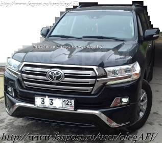 Комплект рестайлинга + опции Toyota LAND Cruiser 200 c 2007- в 2016+