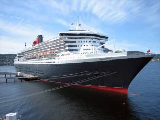 Новый Лайнер Cunard 2009 года выпуска