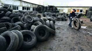 Вывоз мусора, утилизация автошин, вывоз старых шин (покрышек, колёс)Жми.