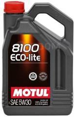 Моторное масло Motul 8100 Eco-lite 5W30 4 литра