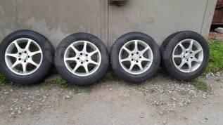 Зимние колеса Dunlop Graspic DS-2 215/60 R16, диски AQUA