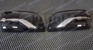Корпуса зеркал Executive Black and White для Toyota Land Cruiser 200