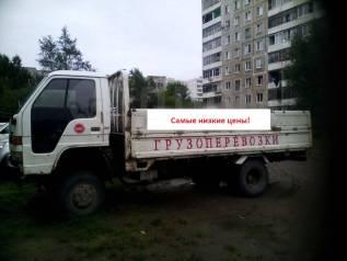 Грузоперевозки до 3 т. кузов 4 метра. Борт. Вывоз мусора. вывоз метал