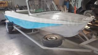 Продам лодку казанка 5м на водомете