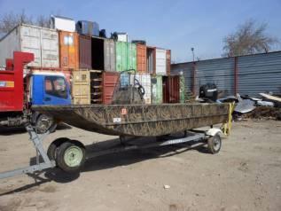 Продам плоскодонный катер lowe boats