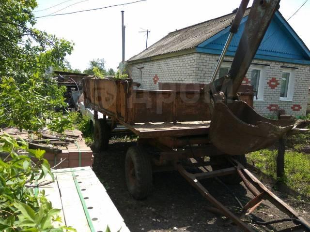 Тракторная телега, 1985. Тракторная телега, 5 000кг.