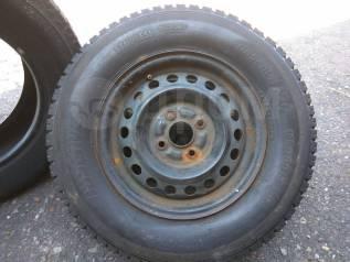"""Продам R13 185/70 комплект зимних колес. 5.0x13"""" 4x100.00 ЦО 55,0мм."""