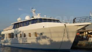 Алюминиевая экспедиционная яхта