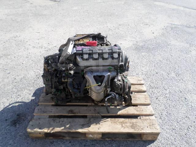 Двигатель в сборе. Honda Accord Honda Civic Honda Civic Aerodeck D16B6, D16B7, D16B, D16B1, D16B2