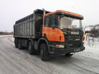 Scania Скания 8x4 самосвал P400 в разбор по запчастям