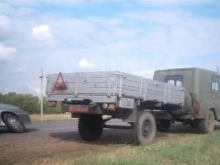 Прицеп бортовой гп500кг с тормозами для УАЗ, ГАЗель, Валдай, Бычок
