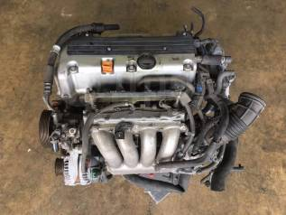 Двигатель в сборе. Honda CR-V, RD6, RD7 Honda Stepwgn, RF7, RF8 Honda Accord, CL8, CL9, CM2, CM3, CL7 K24A, K20A, K20A6, K20Z2, K24A3, N22A1