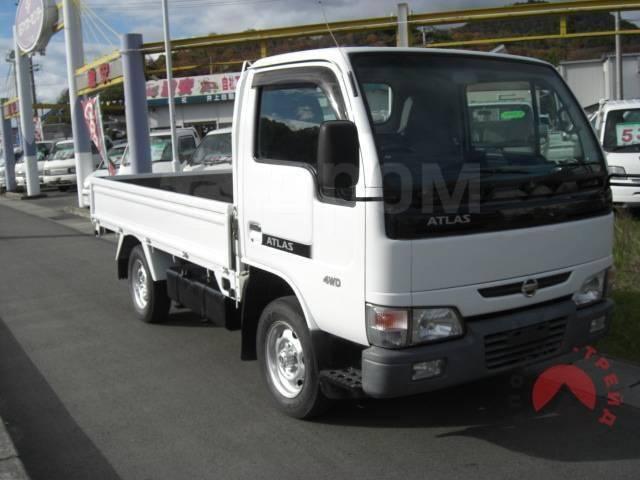 Nissan Atlas. , бортовой SR8F23, 1,5 тонник 4WD с мотором QD32, 3 200куб. см., 1 500кг., 4x4. Под заказ