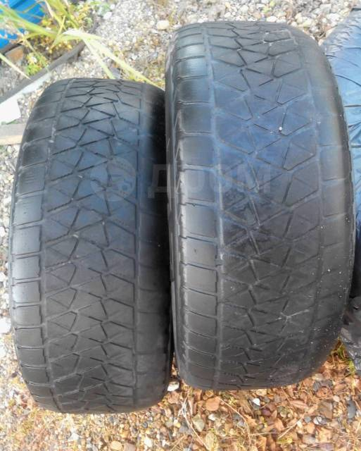 Bridgestone Blizzak DM-V2. зимние, без шипов, 2016 год, б/у, износ 90%