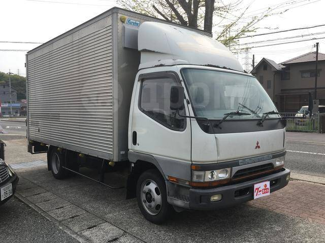 Mitsubishi Canter FE638, мотор 4D35, фургон(будка)широкий