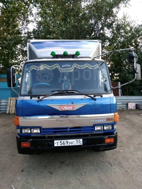 Hino Ranger. Продается грузовик фургон HINO Ranger в Омске, 6 500куб. см., 5 000кг., 4x2