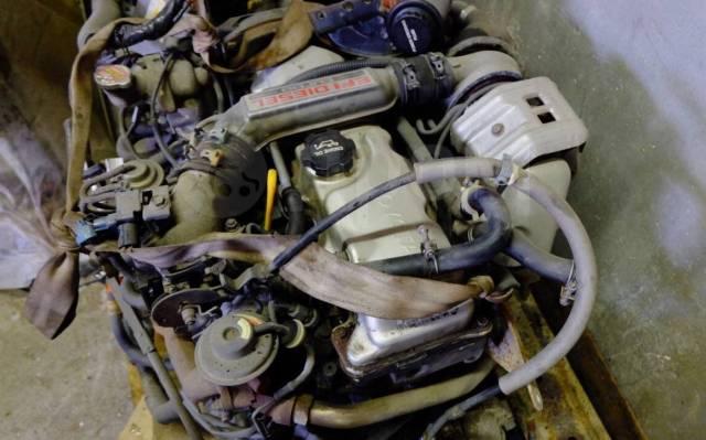 Двигатель в сборе. Toyota Land Cruiser, LJ78 2LTE