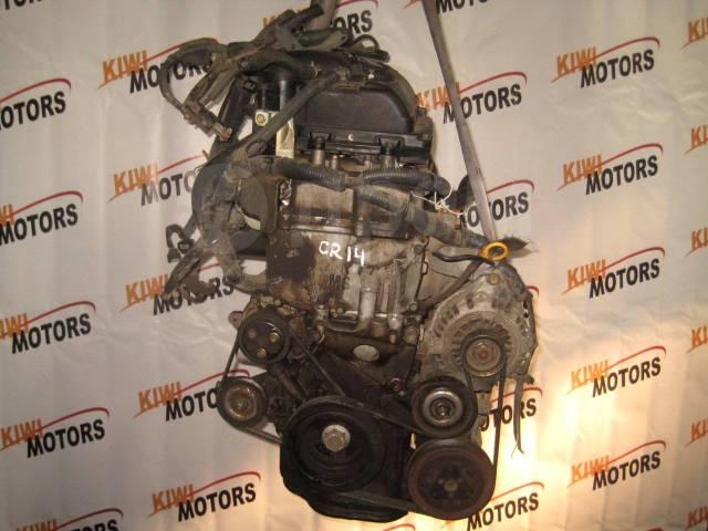 Двигатель в сборе. Nissan Micra, K12, K12C, K12E Nissan March, ANK11, BK12, BNK12, K12 Nissan Tiida, C11, C11X, C13, JC11, NC11, SC11, SC11X Nissan No...