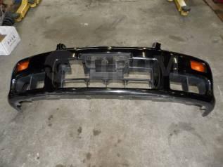 Бампер передний оригинальный черный Nissan Skyline ER34 RB25DET
